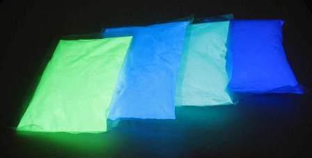 Светящиеся краски — краски на основе люминофора