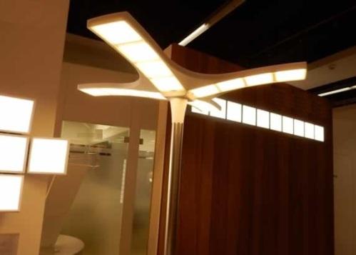 Динамическое освещение OLED