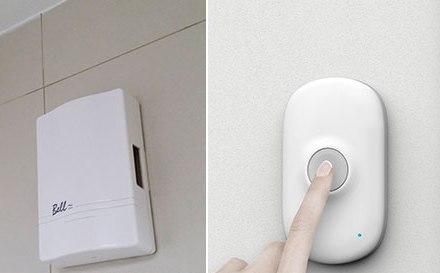 Использование дверного беспроводного звонка